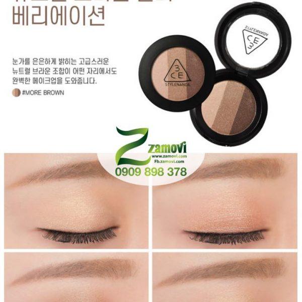 Phấn mắt 3CE (Tone cam)
