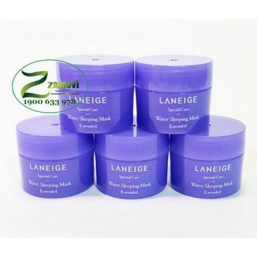 Mặt nạ ngủ Laneige (Lavender mini 15ml)