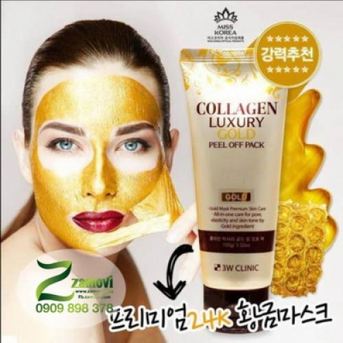 Mặt nạ lột Gold 3W