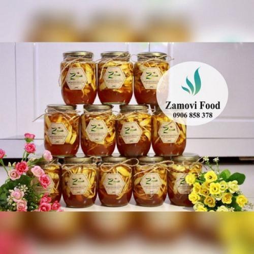 Sâm tươi Hàn Quốc ngâm mật ong (0,5 lít)