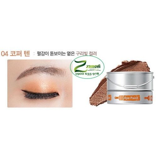 Phấn mắt The Saem (Tone 04: Copper Tan)