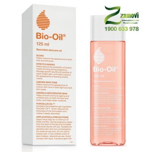Bio Oil chống rạn da và làm mờ sẹo