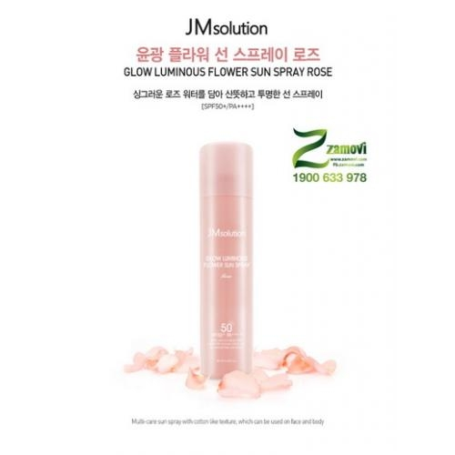Kem chống nắng JMSolution (Màu hồng)