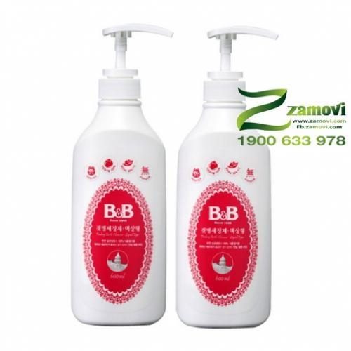 Nước rửa bình sữa B&B