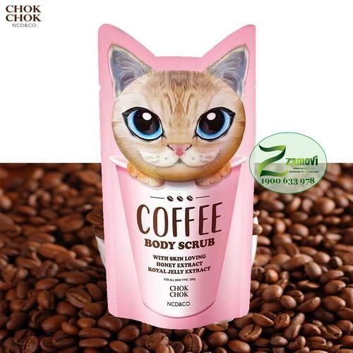Tẩy Da Chết Toàn Thân Cà phê