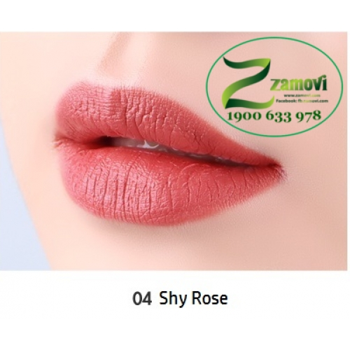 Son cây Perfect Lips Flat Bar (PF04 - Shy Rose)