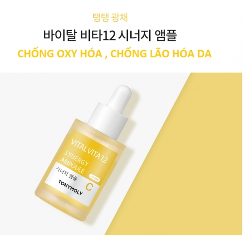 Tinh chất Vita C Vàng Cam Tony