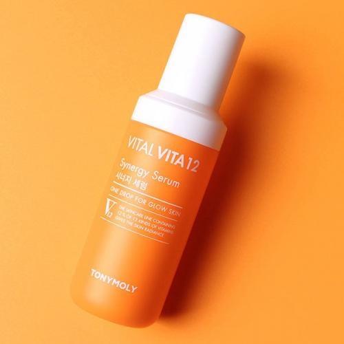 Serum Vital Vita 12 Tony Moly 50ml dưỡng ẩm cho da
