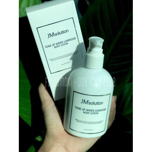 Kem dưỡng trắng body JMsolution hương đào 200ml
