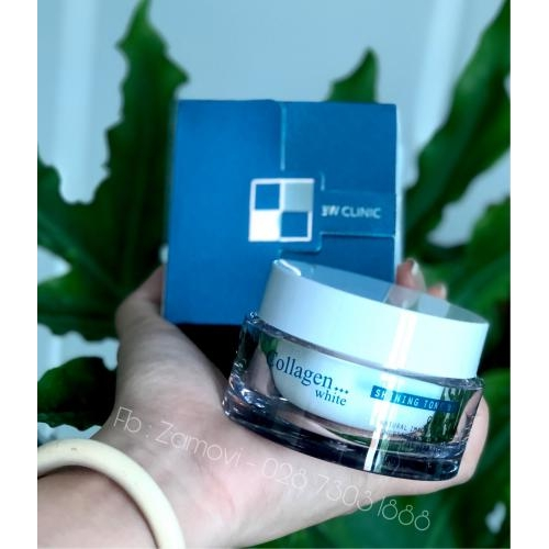Kem dưỡng trắng sáng da Collagen 3W Clinic 50ml