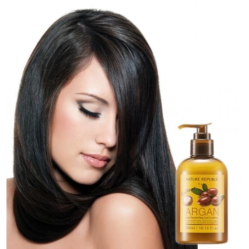 Dầu xả Argan mềm mượt tóc Nature Republic 300ml
