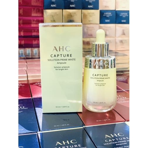 SERUM AHC VÀNG WHITE TRẮNG DA CAPTURE SOLUTION PRIME WHITE  AMPOULE