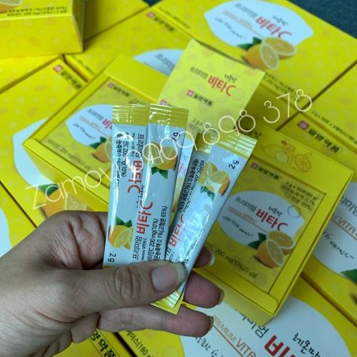 Bột Uống Vitamin C Hàn Quốc