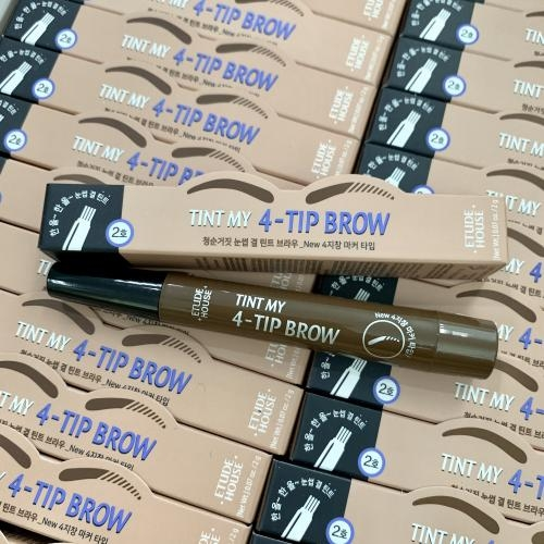 Bút kẻ chân mày phẩy sợi -   Etude House Tint my 4 tip Brow